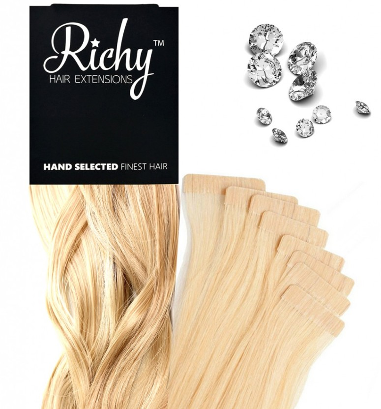 Why Richy Stickee Tape Hair Extensions Are The Best Method Hair